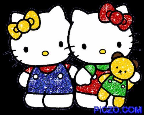 hello kitty  re amor re amor