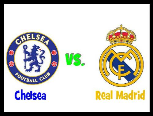 logo chelsea vs real madrid, international champions cup 2013