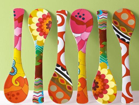 Me llevare lo que no podre d cucharas artesanales for Paletas de cocina decoradas